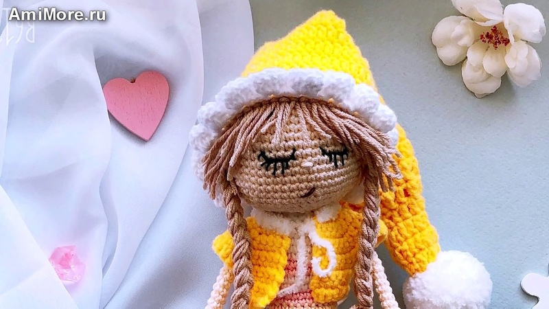 Амигуруми схема Генриетта Игрушки вязаные крючком Free crochet patterns