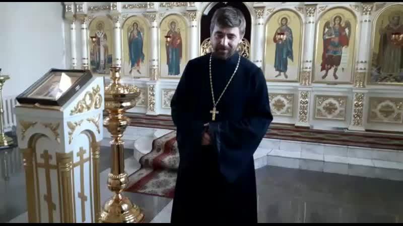 Иерей Димитрий Шишкин Владимирский храм г Турана Тува