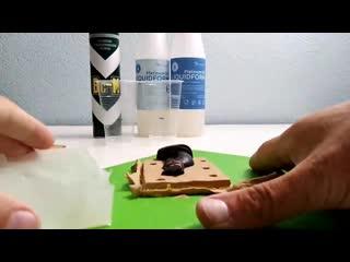 Изготовление двухблочной формы из силикона.
