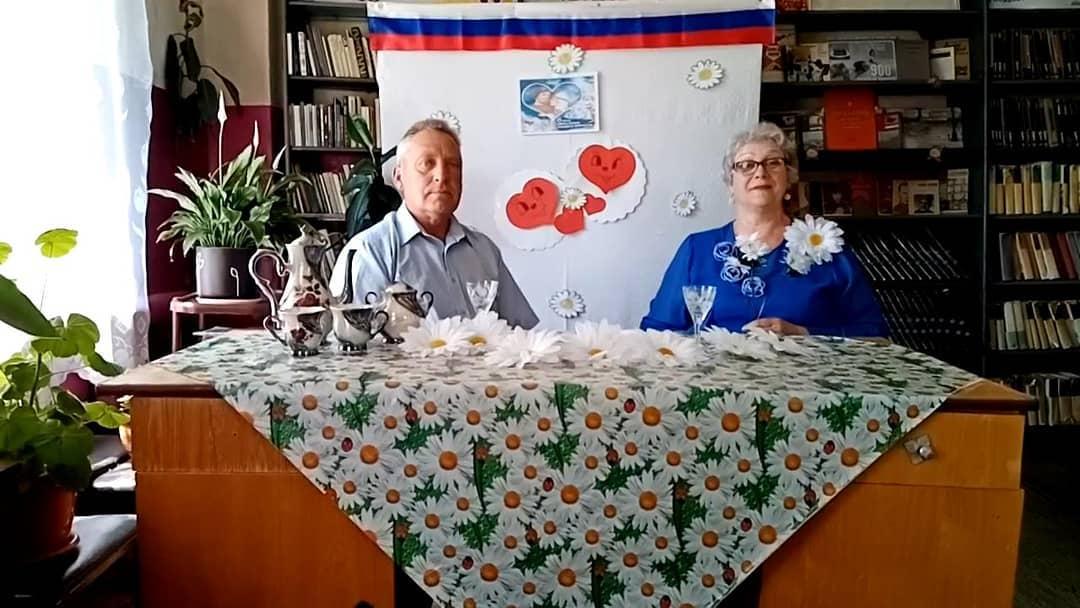Семья ВАВИЛОВЫХ из села БЕРЁЗОВКА Петровского района поздравила петровчан с предстоящим Днём семьи, любви и верности