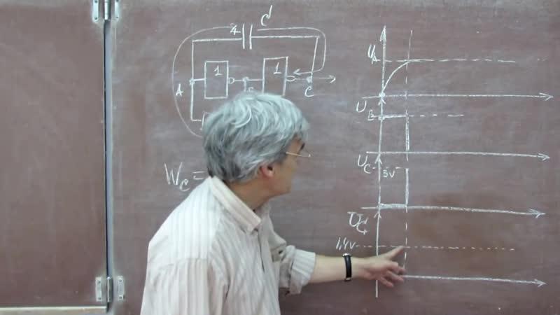 Лекция 102. Низкочастотный тактовый генератор.[720p]