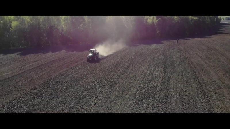 Сев озимой пшеницы (клип) МТЗ 1025.2, Amazone D9-6000TC,John Deere 7830, Unia Ares XL