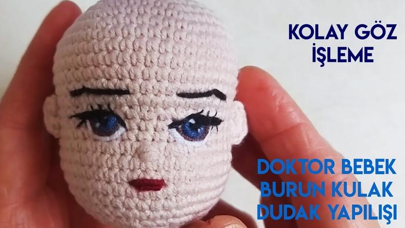 Amigurumi doktor oyuncak bebek – 10marifet.org | 450x800