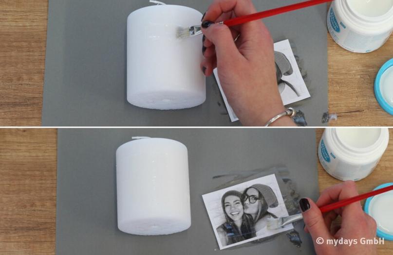 сравнению зарубежными перенести фото на свечу стены того