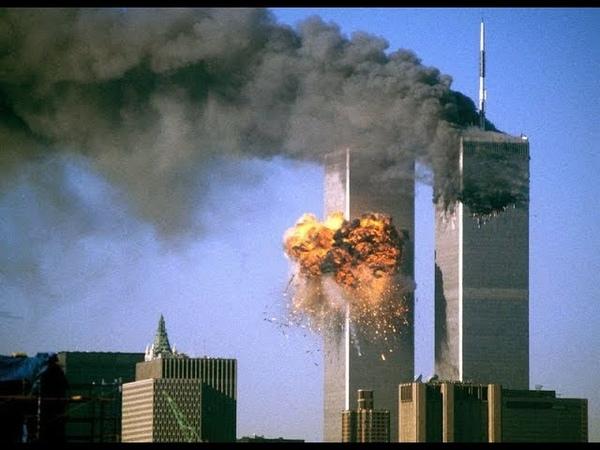 За секунду до катастрофы Теракт 11 сентября 2001 HD