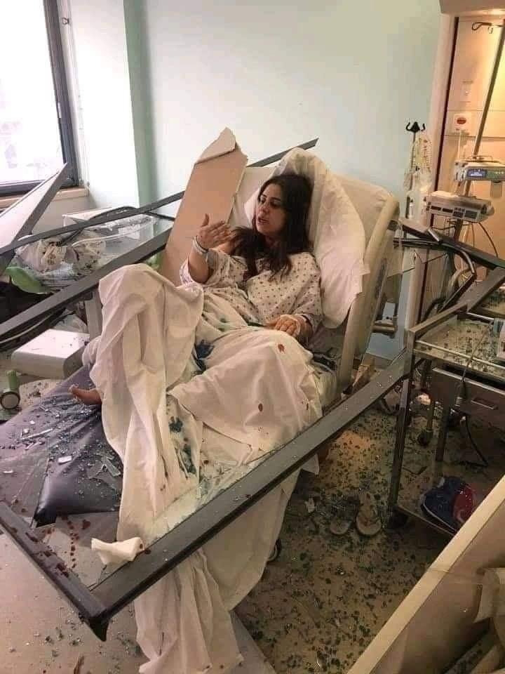 Ребёнок родился прямо во время взрыва в Бейруте