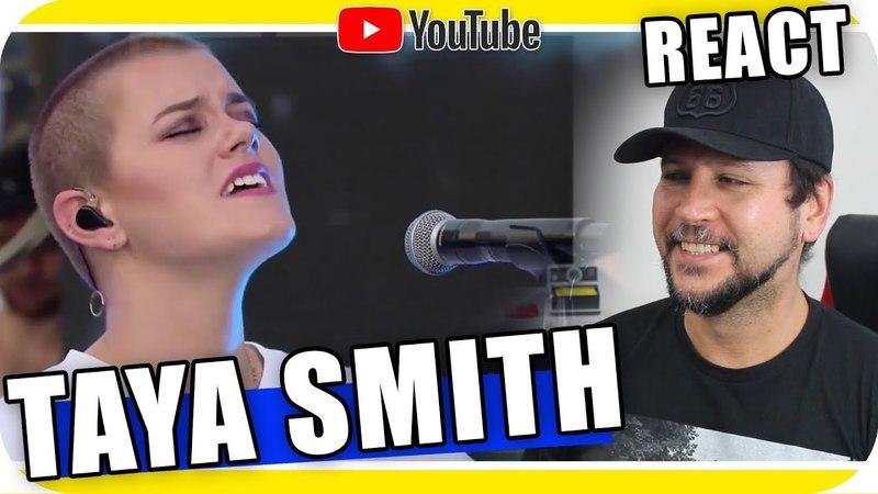TAYA SMITH A VOZ O INSTRUMENTO Música Cristã Gospel Rock Cristão Reagindo React Reação