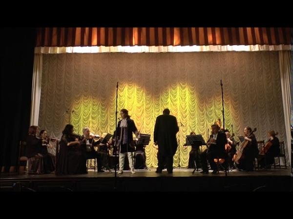 Mozart Aria Sesto Parto parto La clemenza di Tito Maria Chudovskaya