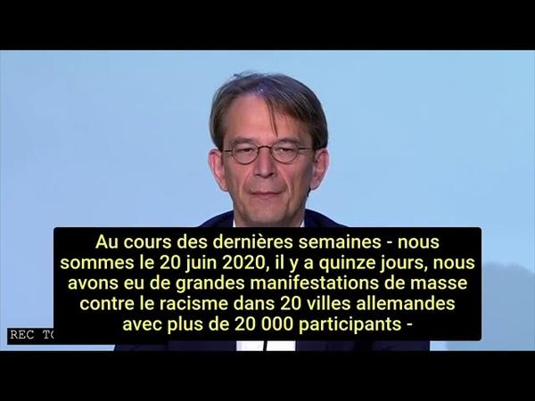 Commission d'enquête extra parlementaire sur le coronavirus ACU Traduite en français AUDIO