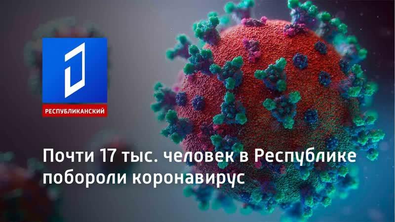 Почти 17 тыс человек в Республике побороли коронавирус