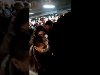 Так в Москве проверяют пропуски на входе в метро