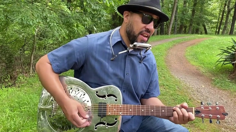 Online Concert Mojo Parker, delta roots and soulful rock