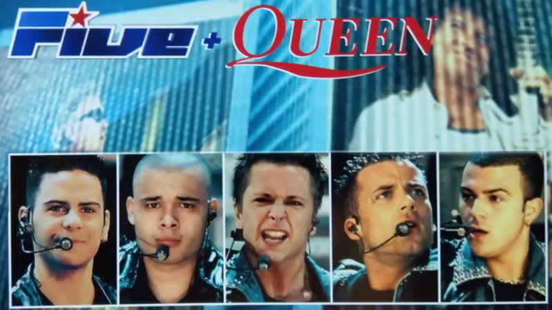 Five and Queen We Will Rock You