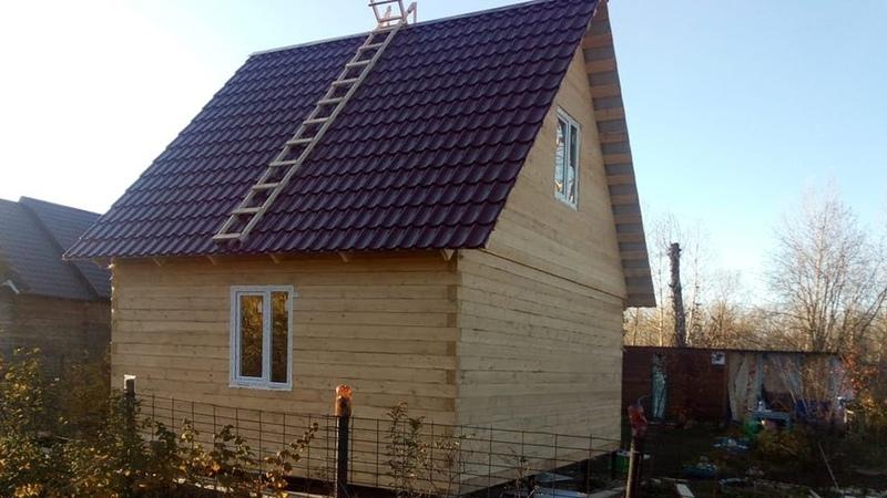 Центральный район, Абагур Лесной, СНТ «Кешево», Строительство дома (6х5м)