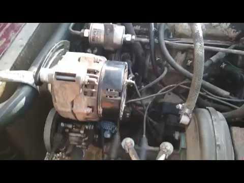 Диагностика Нивы клиента ч.5 а точнее установка переноса генератора, под поликлиновые ремни...