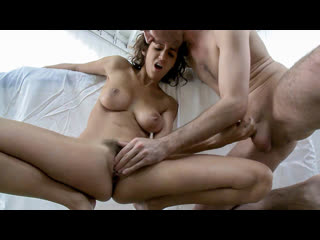 April ONeil - April ONeil Massaged, Seduced And Fucked By James Deen (Big Tits, Blowjob, Brunette, Hardcore, All Sex)