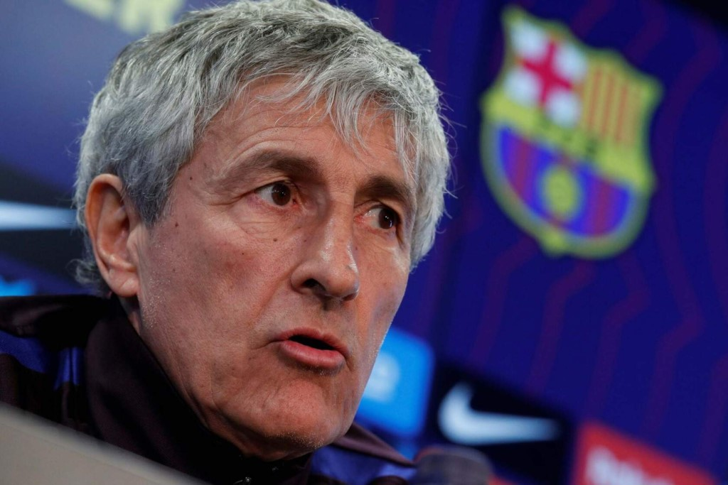 Кике Сетьен, главный тренер Барселоны
