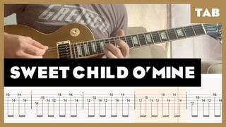 Sweet Child O' Mine Cover | Guitar Tab | Lesson | Tutorial