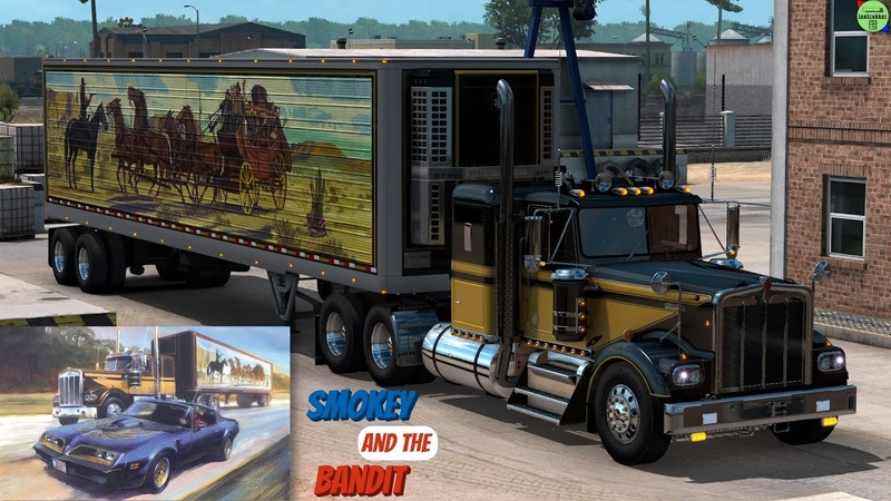 ATS 1 39●Kenworth W900A●Smokey and the Bandit●Tribute Announcement