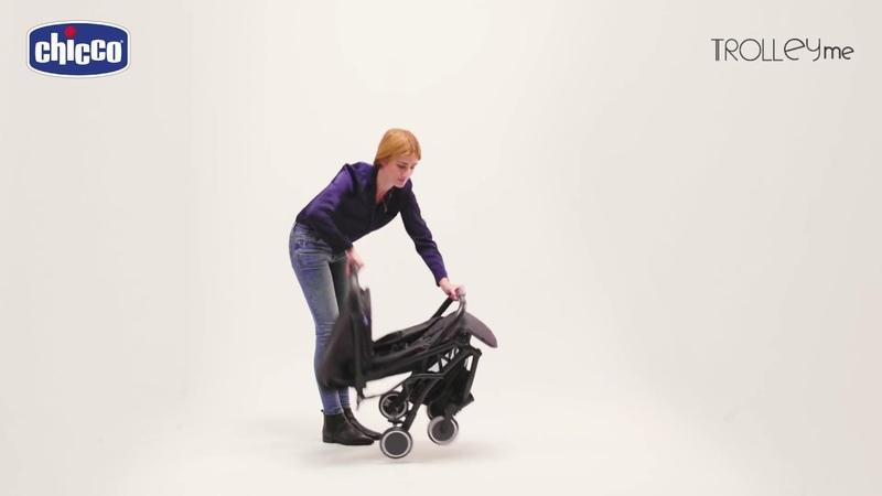 Прогулочная коляска TROLLEY ME от Chicco видео инструкция