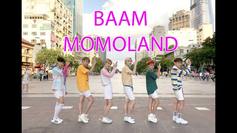 KPOP IN PUBLIC CHALLENGE MOMOLAND 모모랜드 BAAM Dance Cover by HEAVEN DANCE TEAM