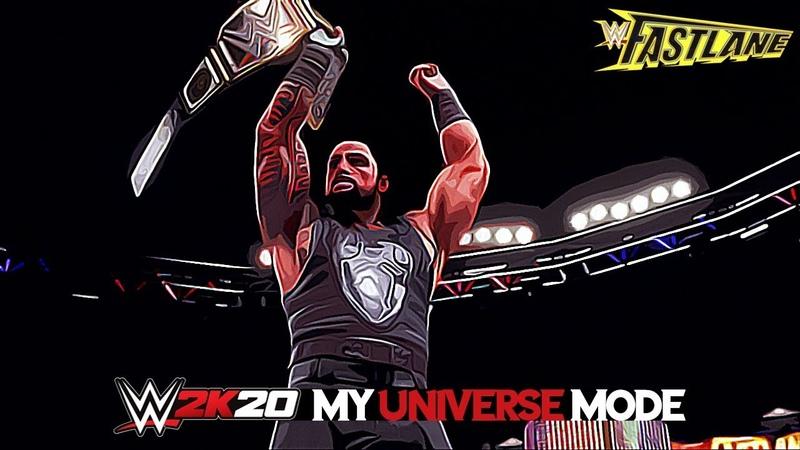 WWE 2K20 Universe Mode Episode 52 FASTLANE