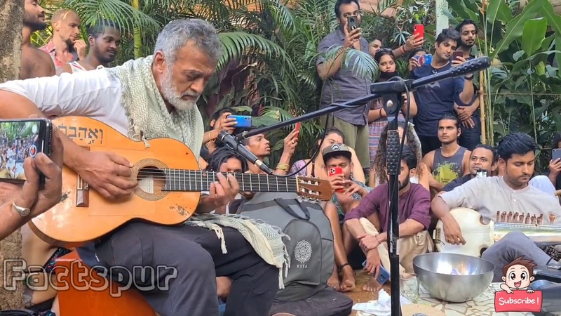 Lucky ali singing o sanam 🔴live at Goa Beach