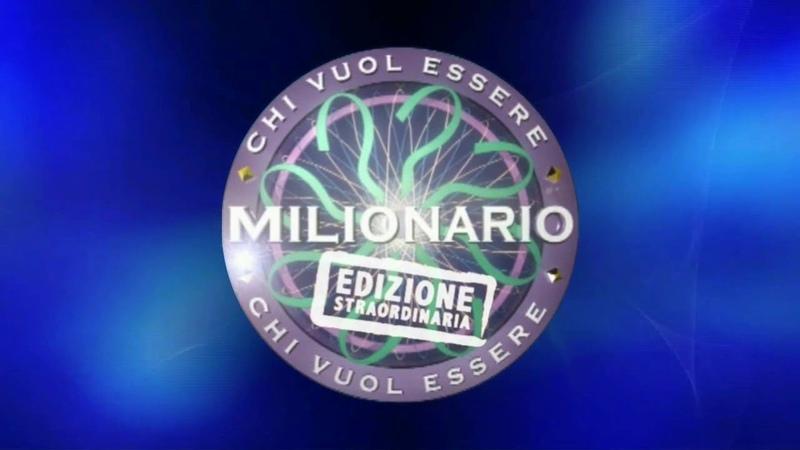 CREAZIONE Chi Vuol Essere Milionario Edizione Straordinaria sigla 2020