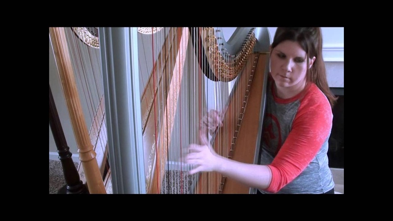 Sim Builder from The Sims 2, on the harp