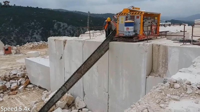 Must See Amazing Mining Technology Granite Mining At Quarry Granite Production Process