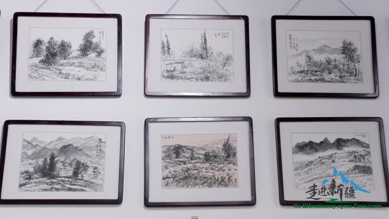Деревня художников спасает от бедности