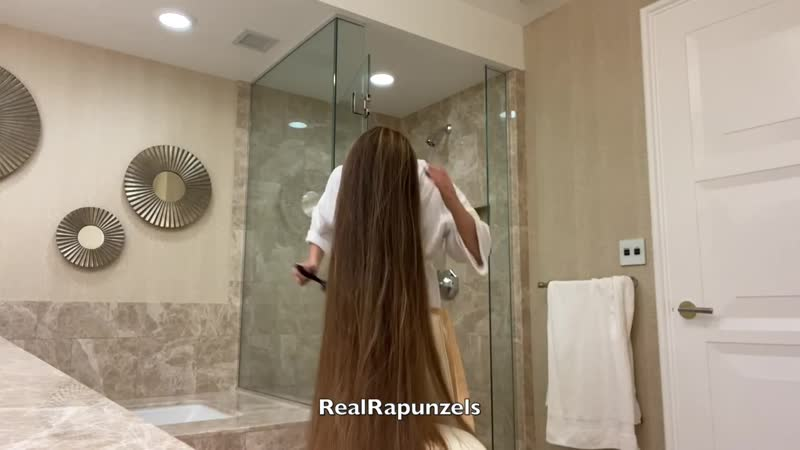 RealRapunzels Very Long Hair Shower preview