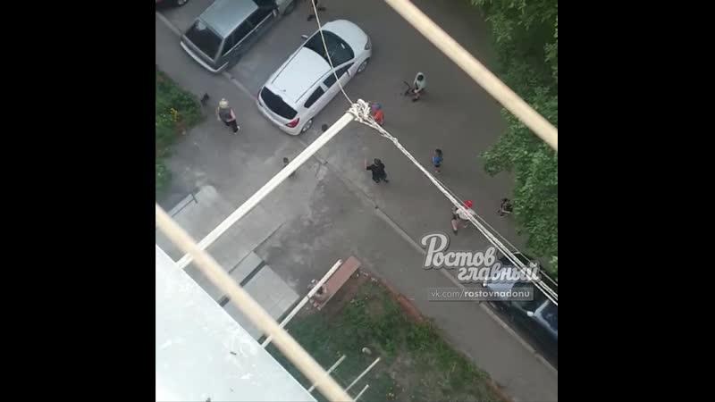 Подростки в Ростове забросали камнями бабушку за нравоучения