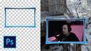 Как сделать рамку для вебки в фотошопе