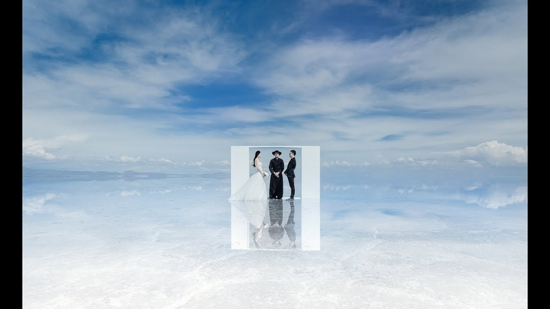 Pre-wedding photography in Salar de Uyuni, Bolivia 2016 by Katya Mukhina