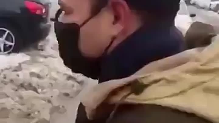 Ряженные ублюдки на страже путинских ёршиков.