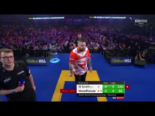 Michael Smith vs Luke Woodhouse (PDC World Darts Championship 2020 / Round 2)