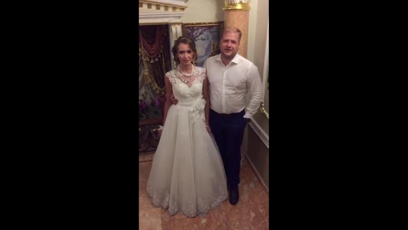 Видео отзыв новобрачных Сачко Артема и Насти 31 08 18