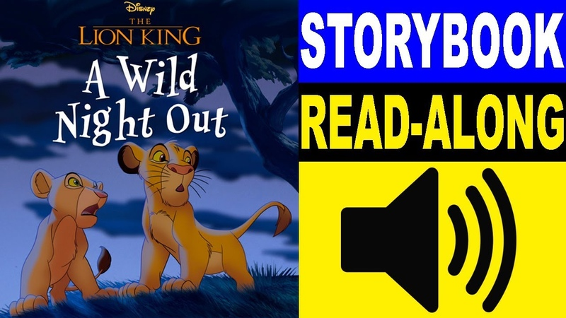The Lion King Read Along Storybook, Read Aloud Story Books, Books Stories, Bedtime Stories