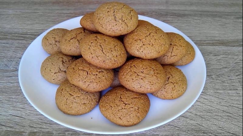 Овсяно ржаное печенье Полезная выпечка Oatmeal rye cookies