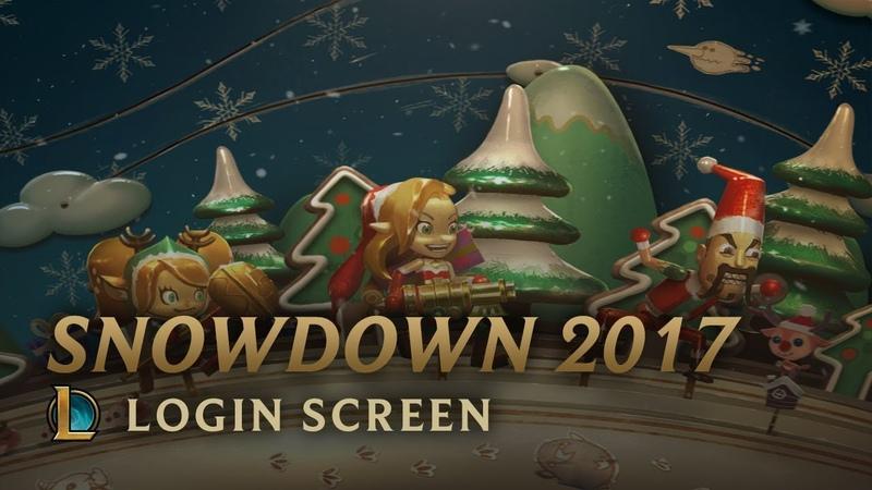 Snowdown 2017   Login Screen - League of Legends
