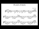 Máximo Diego Pujol Plaza Italia for Guitar Score video