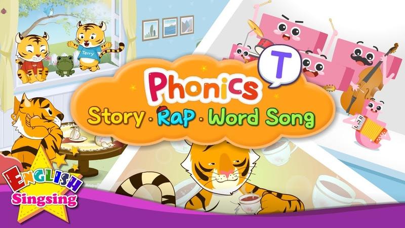 Phonics 'T' Collection Alphabet Bundle Educational video for Kids