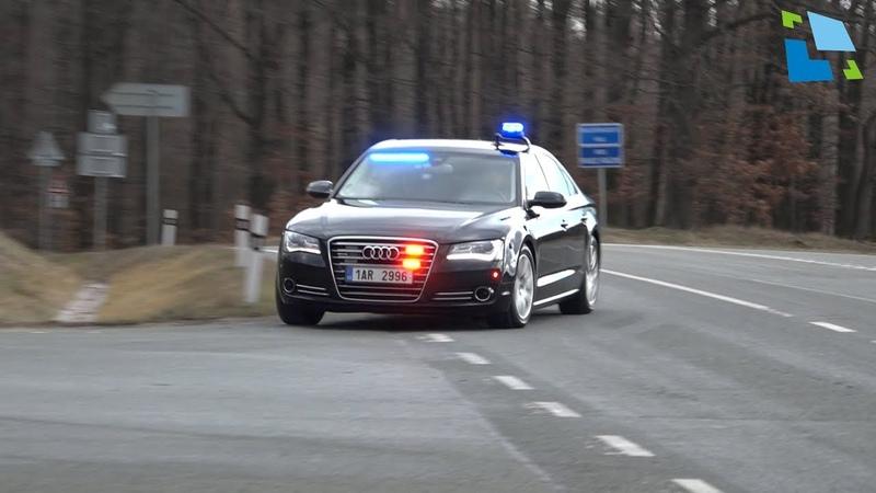 Audi A8 nově ve službách dálničního oddělení Pravy na D11