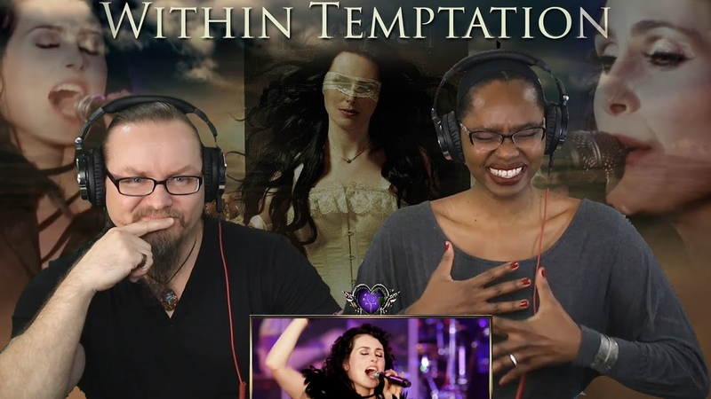 Within Temptation The Truth Beneath the Rose Black Symphony REACTION