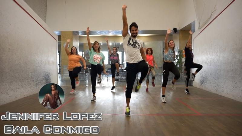 Baila Conmigo Jennifer Lopez by Lessier Herrera Zumba