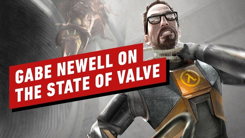 Gabe Newell Talks Half Life Alyx Valve's Past and Unexpected Future IGN First