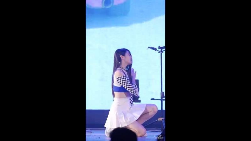 [FANCAM] Girlkind - S.O.R.R.Y @ Lotte World Adventure Summer Concert 03/08/18 (Ellyn focus by 수원촌놈)