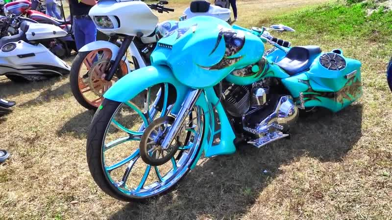 Daytona Bike Week 2020 Harley Davidson Battle of Baggers Softail Competition