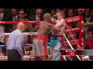 Флойд Мейвезер - Рикки Хаттон /  Mayweather Jr vs Hatton - Highlights